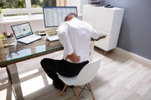 Low back pain office work